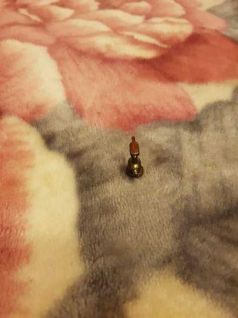 Leme de Navio miniatura em cobre