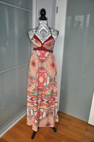 Sukienka letnia kolorowa
