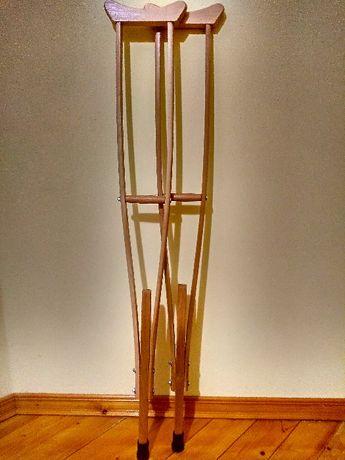 Акція-10% Милиці пахвові дерев'яні від виробника - костыли подмышечные