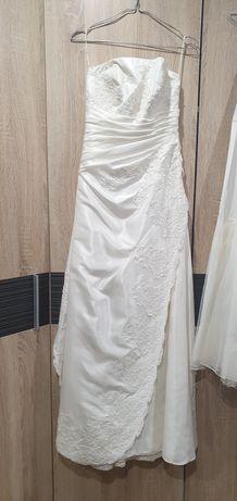 Suknia ślubna rozm S