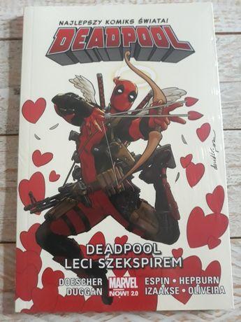 Deadpool leci Szekspirem. Nowa w folii. Najtaniej