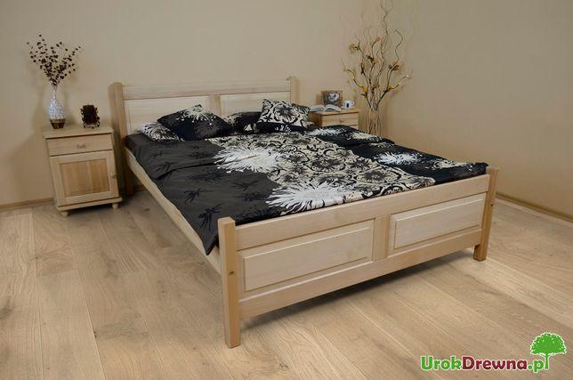 Łóżko FII 160x200 Drewniane BUKOWE rozmiary kolory PRODUCENT, wysyłka