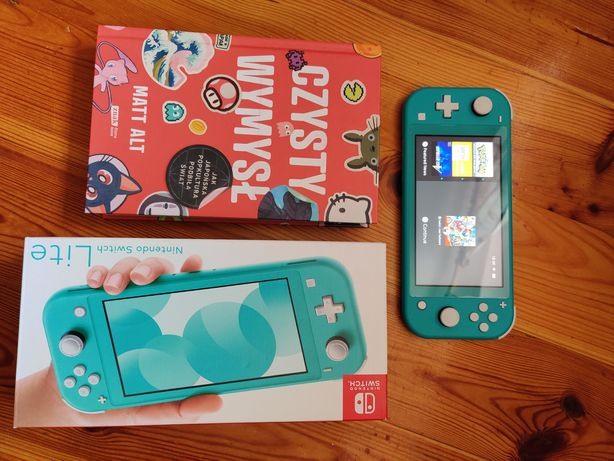 Nintendo switch komplet na gwarancji gratis