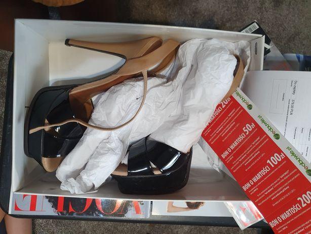 Gino Rossi Piękne Klasyczne Sandały