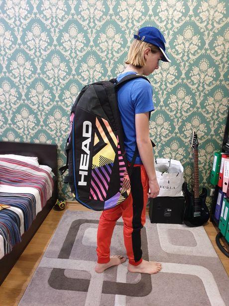 Продам теннисный баул Head/теннисный рюкзак Хэд/рюкзак для тенниса