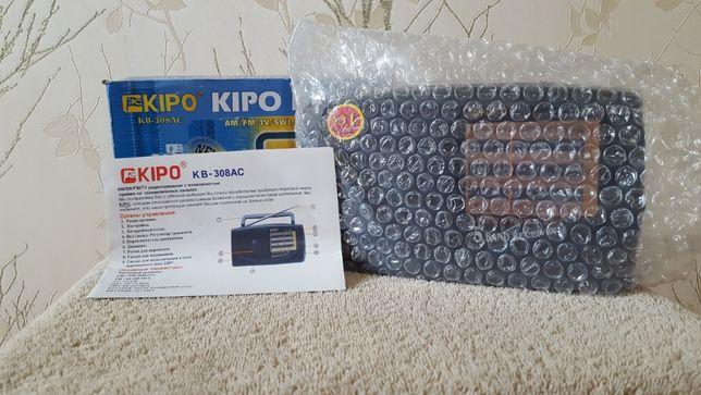 Радиоприемник Kipo KB-308 AC новый.