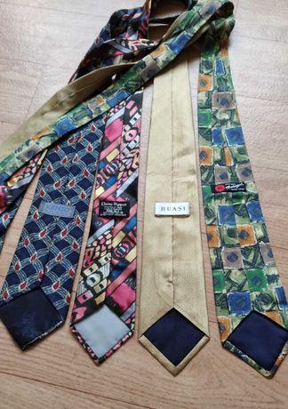 Винтажные шелковые галстуки kenzo elaine rippon huasi rotsiegel