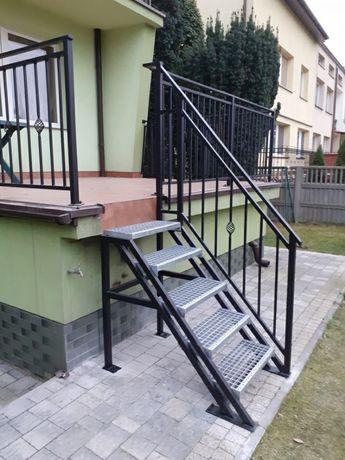 Bramy, balustrady, ogrodzenia