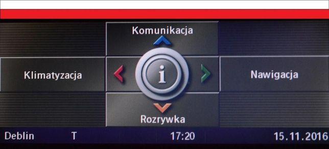 Polskie Menu BMW CCC E60 E61 E90,91 E70 E71 E63 E84 x5 x6 x1 CIC mapa