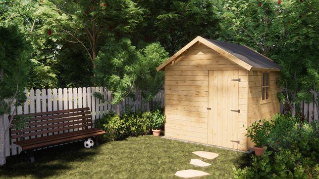 Domki Narzędziowe Modulor, Domek Narzędziowy Drewniany