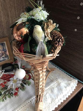 Різдвяна декорація екибана