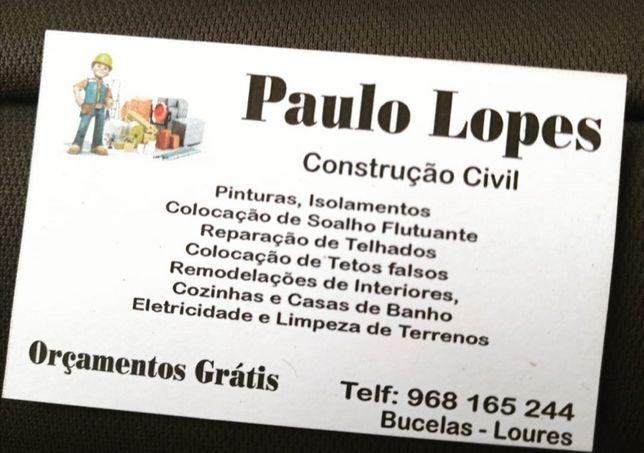 Construção civil (todo o tipo de obra)
