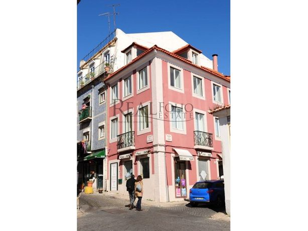 Prédio recuperado em Lisboa para Investimento