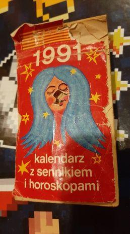 Kalendarz ździerak 1991