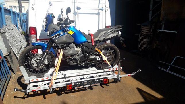 Rampa platforma do przewozu motocykla