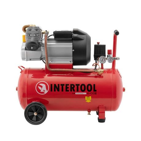 Компрессор 50 л,INTERTOOL PT-0007,компресор 420л