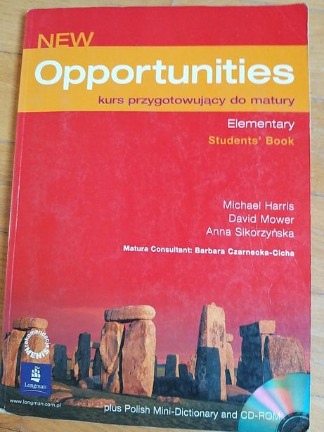 New opportunities student's book