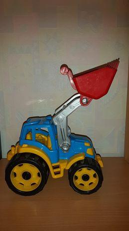 Трактор игрушка машинка Технок