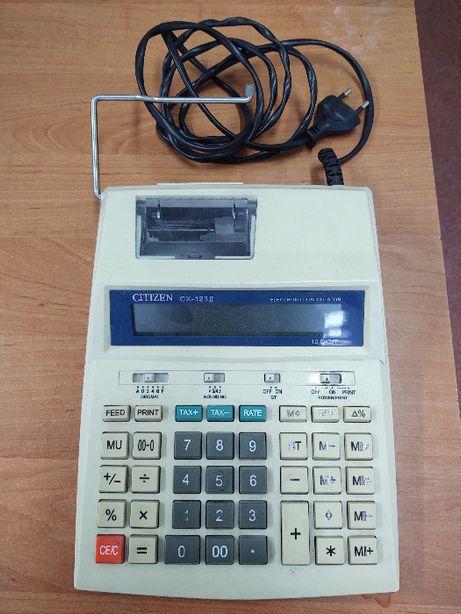 kalkulator citizen cx-123 2