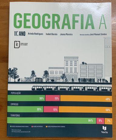 Livro Geografia A - 11° ano de escolaridade