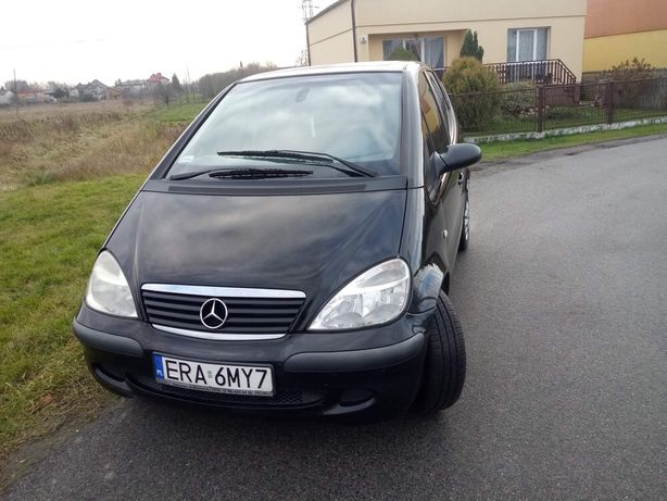 Śliczny Mercedes A klasa 1.4b 2002rok