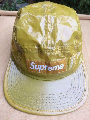 Кепка Supreme Coated Linen Camp Cap