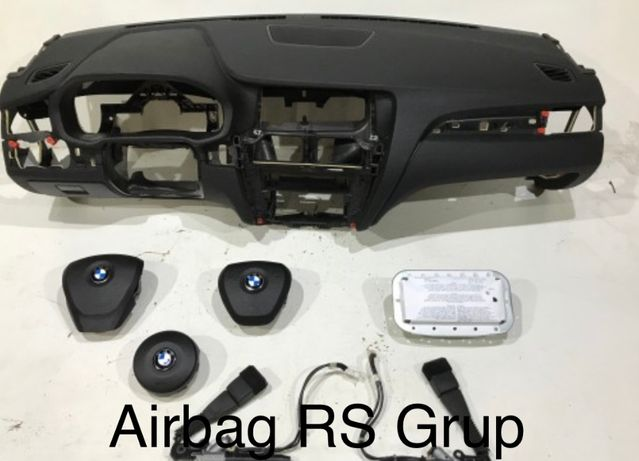 BMW X3 F25 tablier airbags cintos