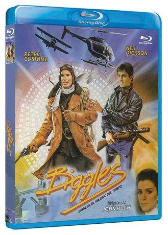 Biggles El Viajero Del Tiempo/Viagem no Tempo(Blu-Ray)-Importado