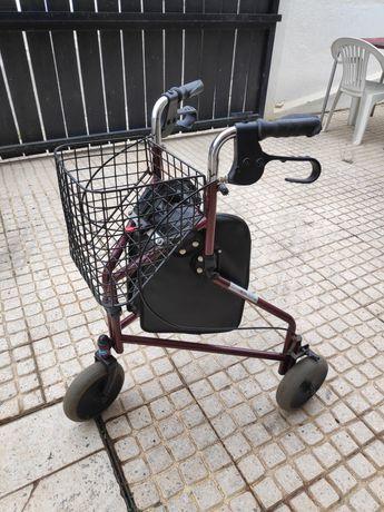 Andarilho andador carrinho para mobilidade