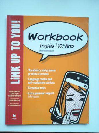 "Workbook ""Link up to you"" Inglês 10º ano"