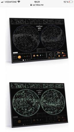 Карта звездного неба 1dea.me
