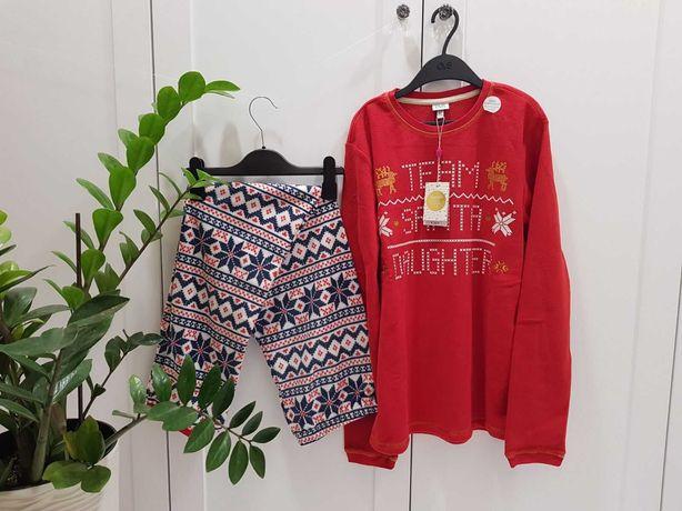 Флисовая пижама Санта OVS 13-14лет рост 164