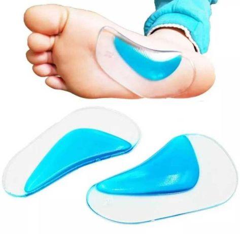 Ортопедические силиконовые вставки для обуви.