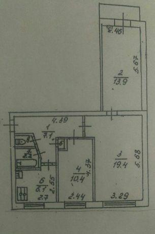 Продается 3х комнатная квартира на микрорайоне