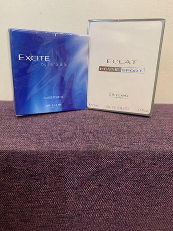 Мужская туалетная вода Eclat и Excite by Dima Bilan