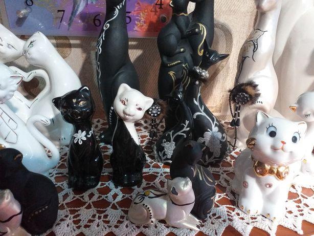 Коллекционные статуэтки котов, кошек!