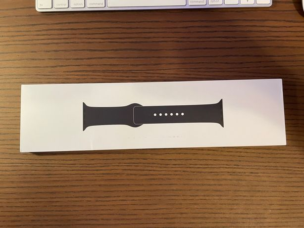 Pasek Apple Watch 42/44mm Sport Band Czarny