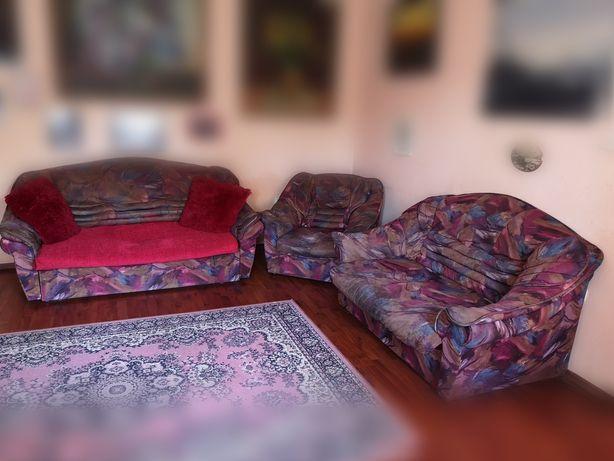 Комплект диванов кресло диван тройка