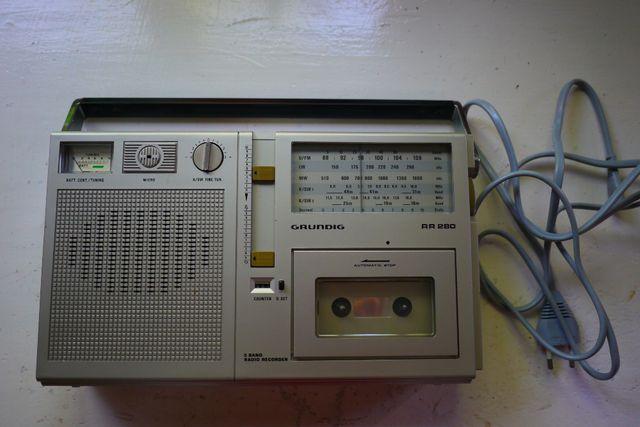 Radiomagnetofon Grundig RR 280