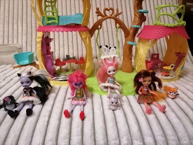 Куклы Enchantimals Mattel   И домик для них.
