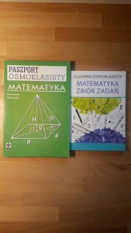 Paszport ósmoklasisty + zbiór zadań MATEMATYKA