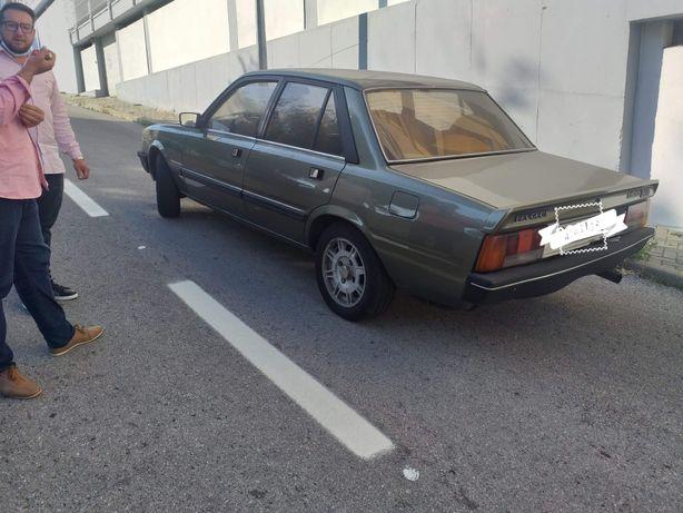 RELIQUIA Peugeot 505 gtd turbo diesel 1984