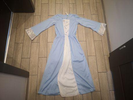 Sukienka Maryji, Maryja, jasełka roz.7-10 lat(122-134cm)