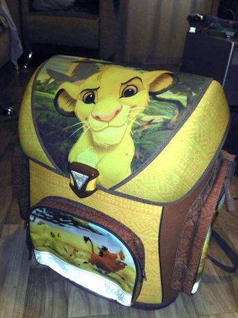 Ранец детский рюкзак Scooli Германия. Серия Disney, Simba
