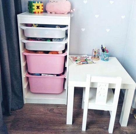 В наличии Стеллаж з контейнерами TROFAST IKEA комод