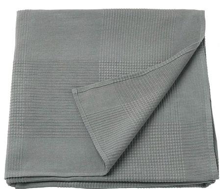 ponad -70% ikea INDIRA narzuta na łóżko bawełna 150 x 250 cm szara