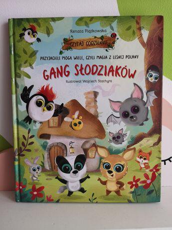 Gang słodziaków książka przyjaciele mogą wiele, czyli magia