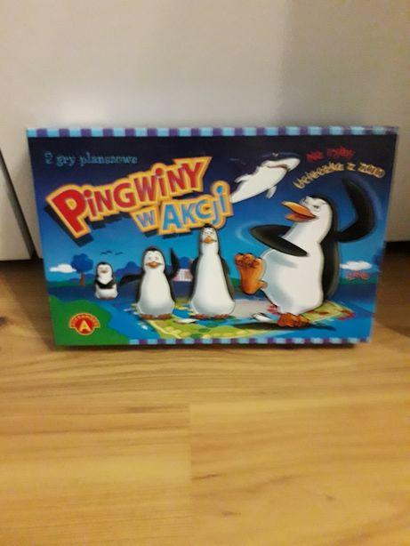 Wdzięczna gra, pingwiny