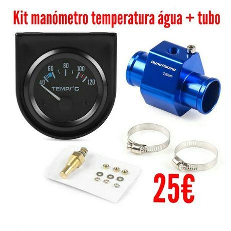 Manómetro temperatura da água