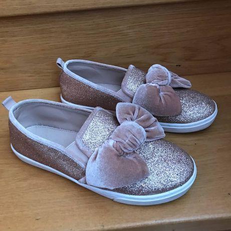 Туфли балетки  мешти